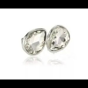 Kenneth Cole Statement Ring Clear Crystal  Stone
